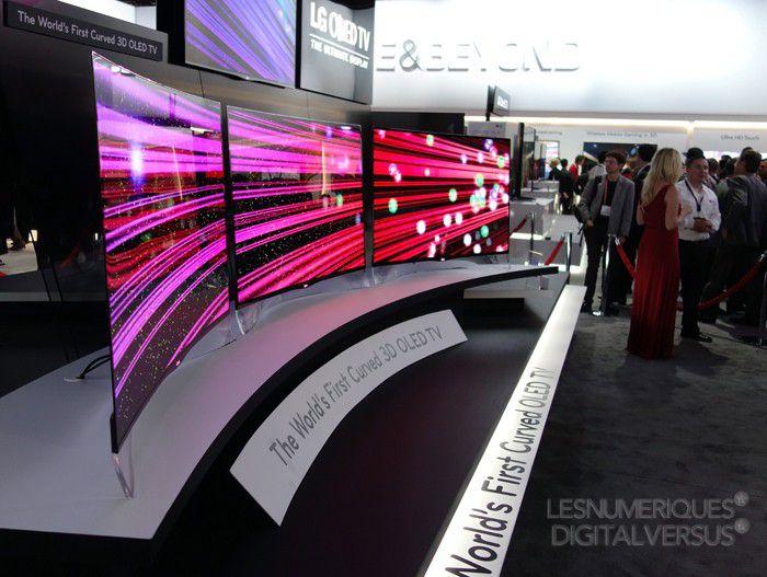 LG OLED incurve