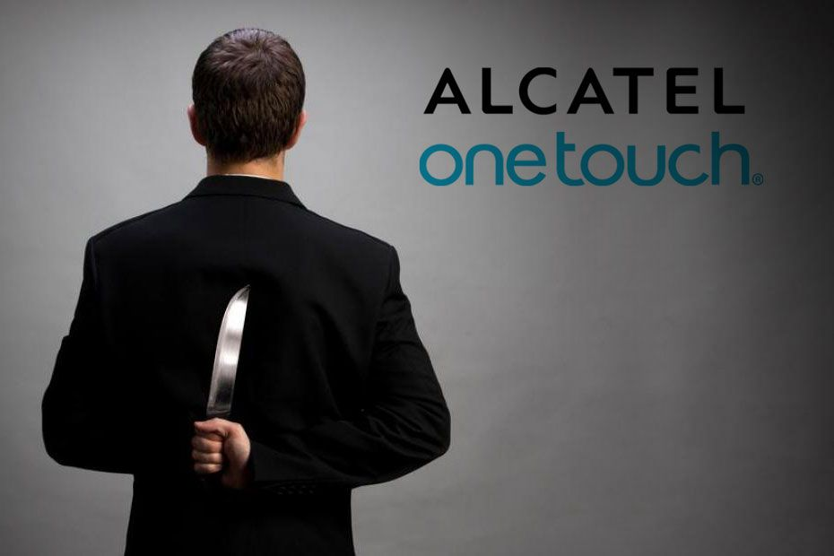 Concurence alcatel ONEtouch