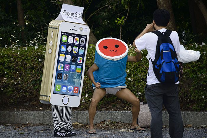 Cosplay iPhone