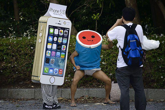 Cosplay iPhone