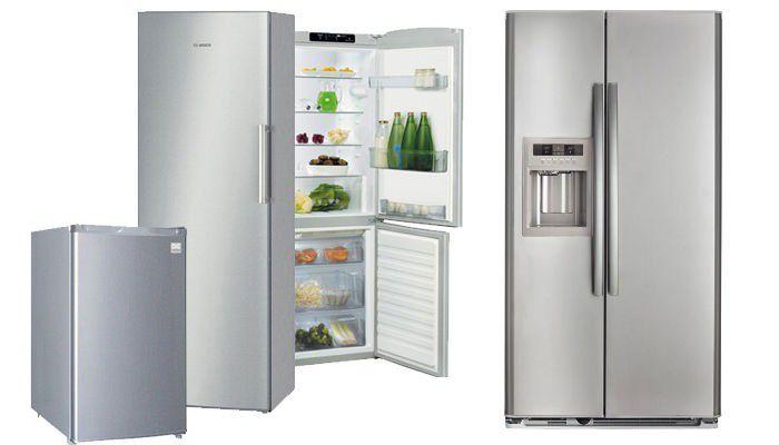 Réfrigérateurs formats