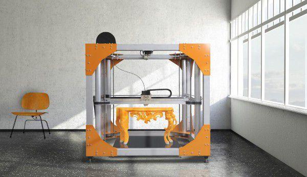 BigRep imprimer meubles TEC2014