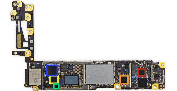 IPhone6CodecAudioCirrusLogic1201Bleu