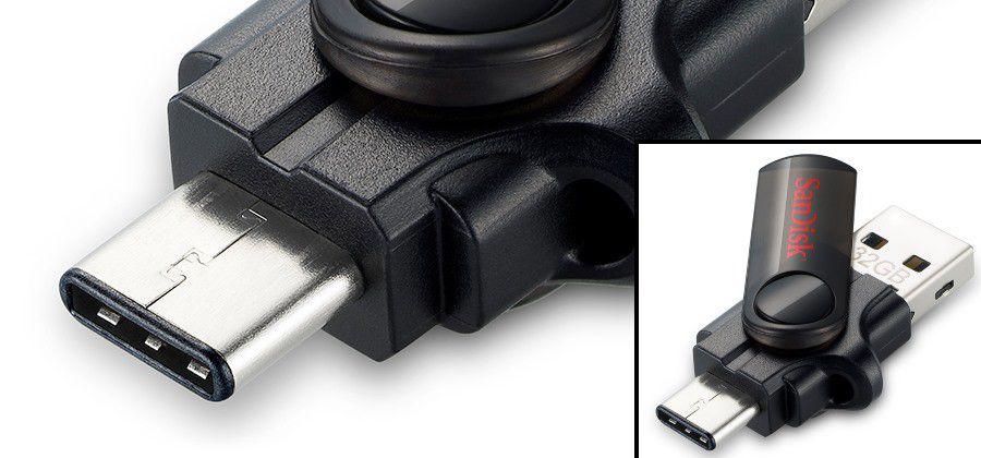 Connecteur usb type c sandisk