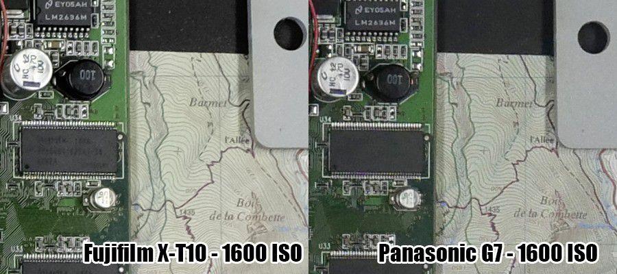 Duel X T10 vs G7 1600 ISO
