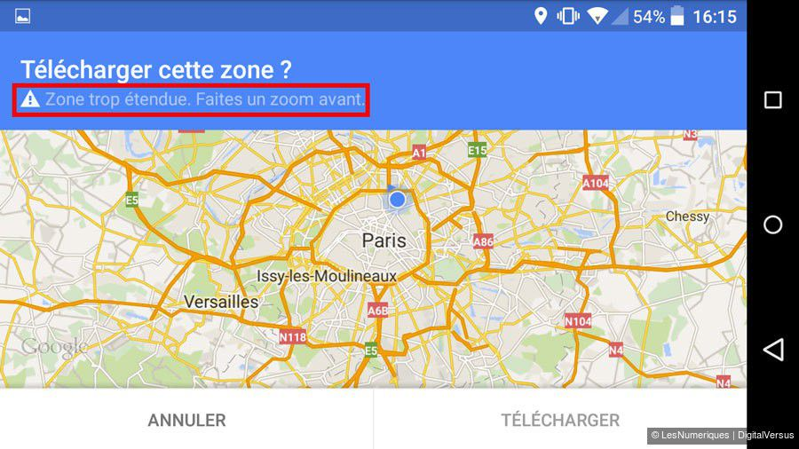 carte europe offline