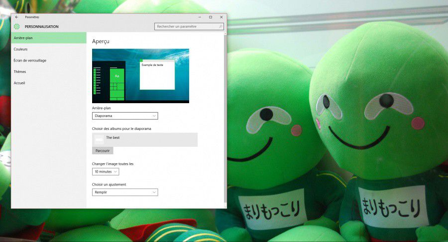 Personnalisez windows 10 à votre image ! les numériques