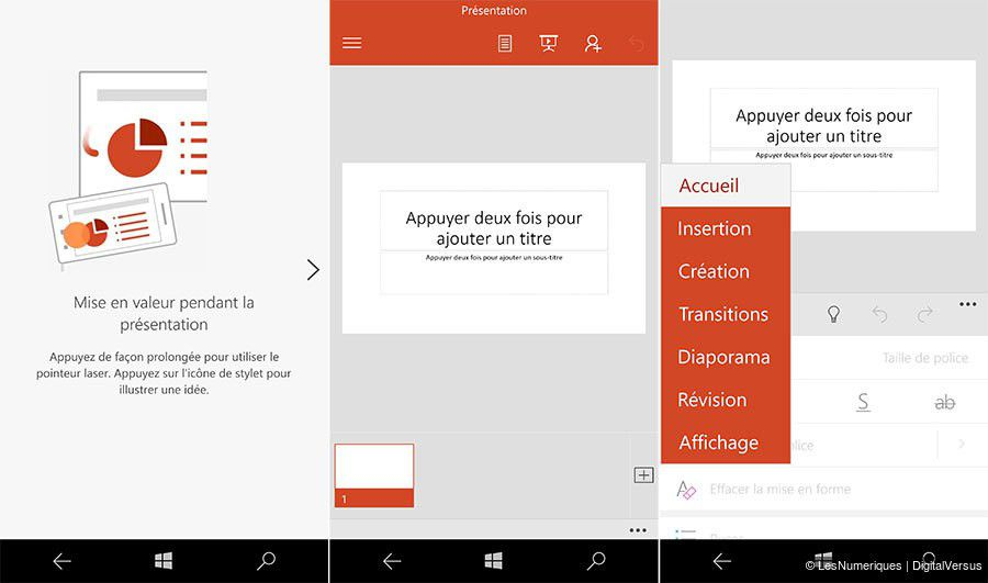 Dossier microsoft windows 10 mobile nouveautes office 3