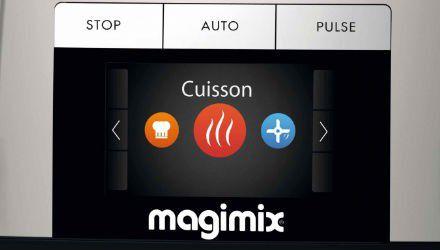Duel robots culinaires commandes magimix