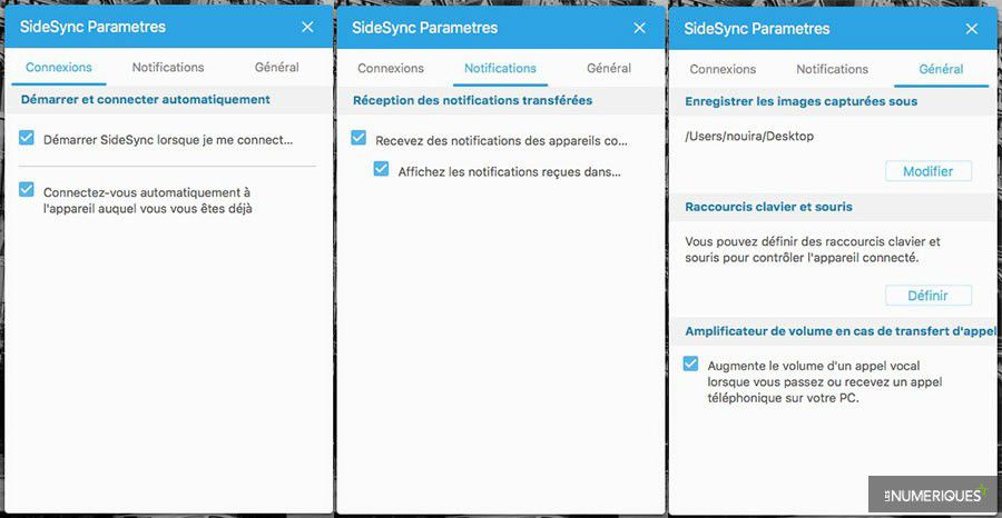 Tutoriel sauvegarde synchro android sidesync parametres