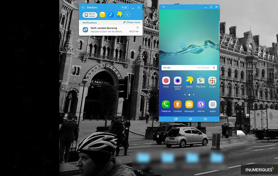 Tutoriel sauvegarde synchro android sidesync recopie video