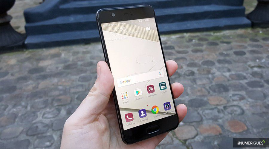 Huawei p10 face main cour