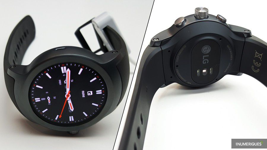 Lg g watch sport face dos montage petit