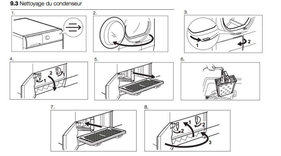 Dossier seche linge mode emploi Electrolux