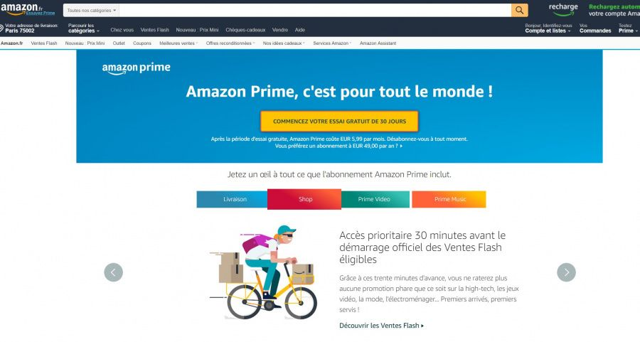 057f6392a21dd Amazon, Fnac, Cdiscount... Comparatif des offres Premium - Les ...