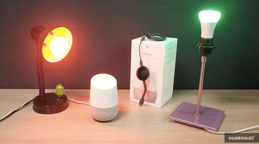 prise en main du google home une belle premi re les. Black Bedroom Furniture Sets. Home Design Ideas