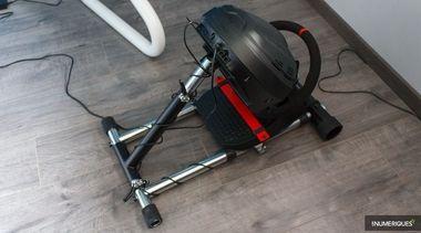 Zerone Support de Volant de Course Support de Volant de Simulateur Pliable avec Levier de Vitesse pour G25 G27 G29 G920 T300RS