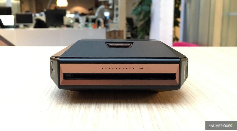 Notre choix : imprimante photo instantanée Fujifilm Instax Share SP-3 (de face)