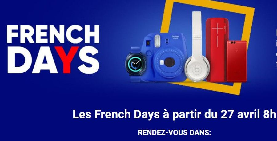 Les cinq jours soldes à la française — Les French Days