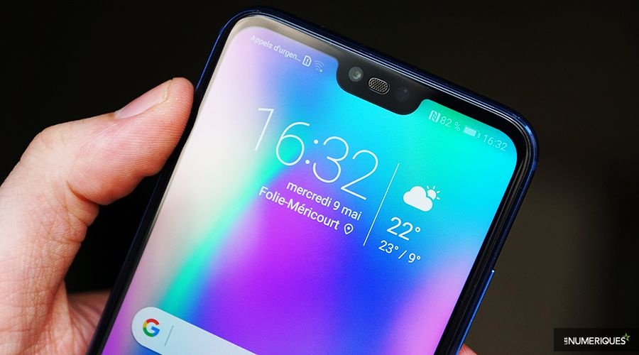 Honor 10 Encoche