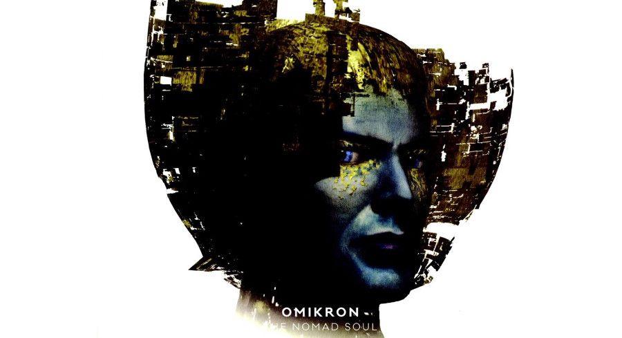 Visuel pour le support du jeu Omikron: The Nomad Soul (Quantic Dream)