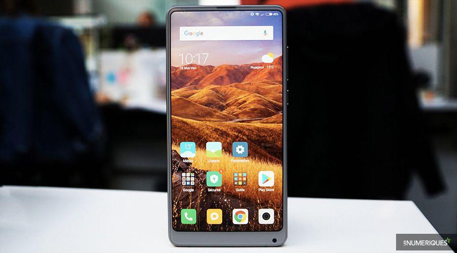 Xiaomi Mi Mix 2S face