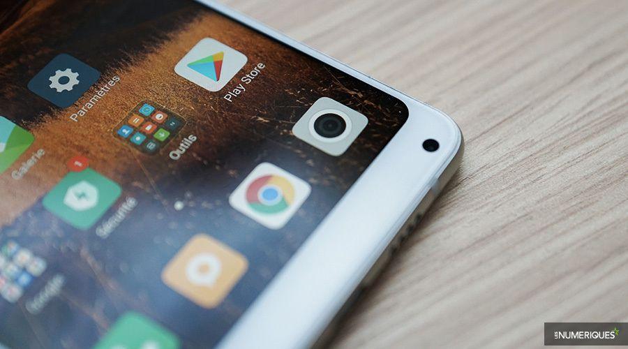 Xiaomi Mi Mix 2S ergonomie