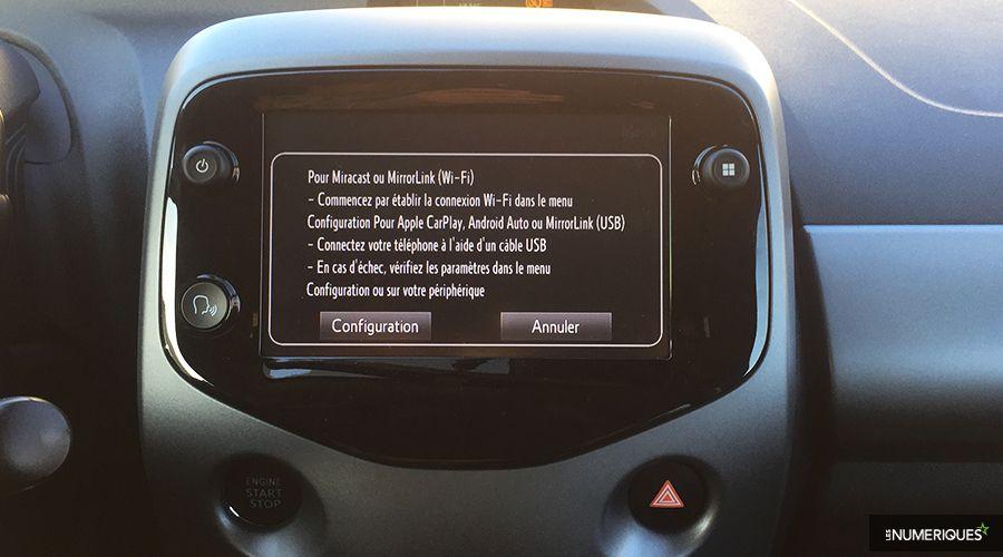 Toyota Aygo : un restylage avec des morceaux de CarPlay et d