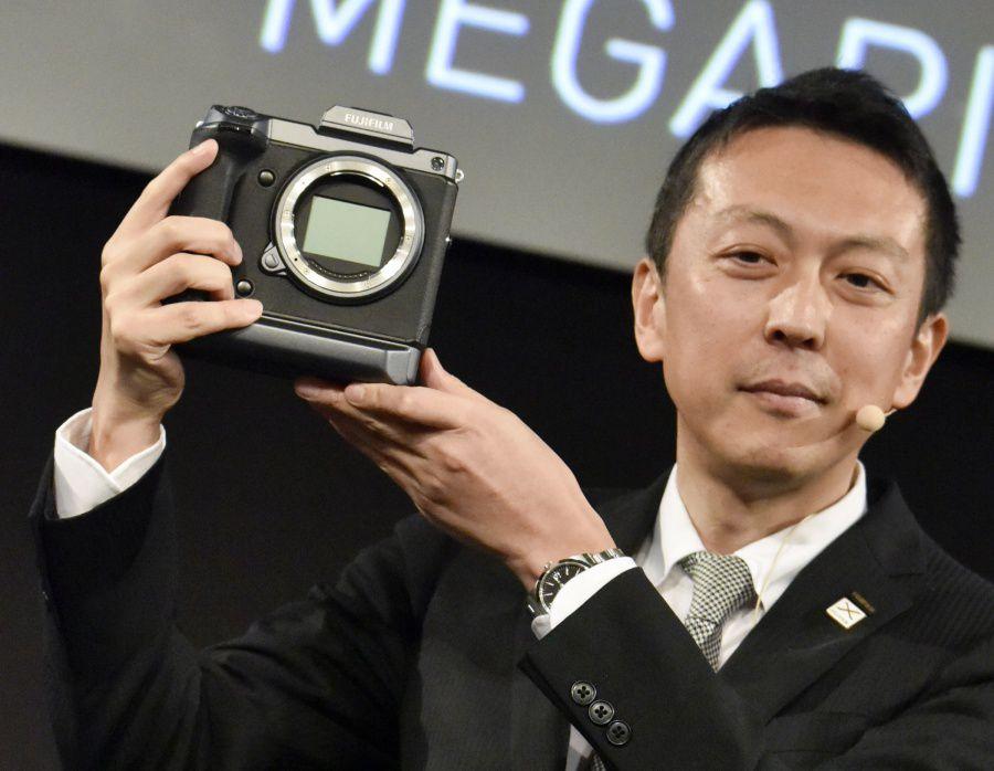Présentation du moyen format 100 Mpx à la photokina par Fujifilm