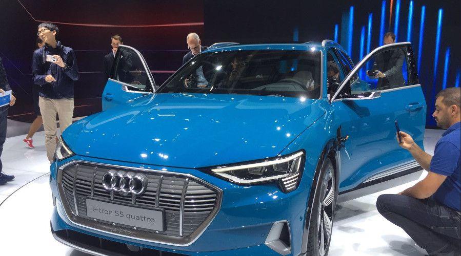 Audi E-Tron mondial auto 2018