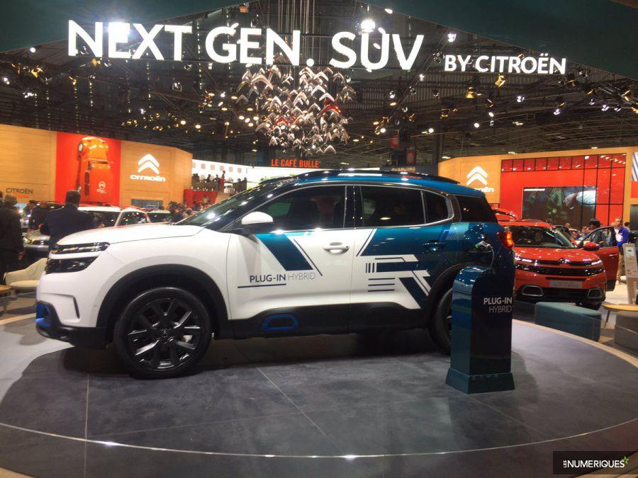 Citroen Concept C5 Aircross Hybrid mondial auto 2018