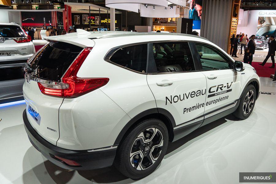 Honda CR-V Hybrid Paris Mondial de l'auto 2018