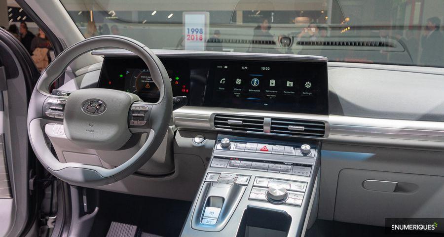 Hyundai Nexo Paris mondial de l'auto 2018