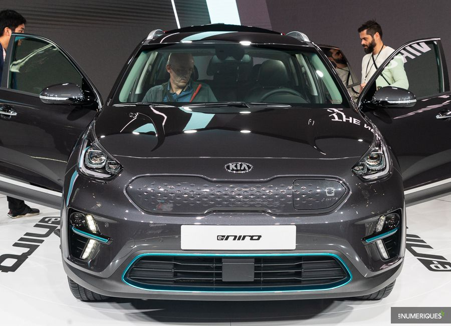 Kia e-Niro mondial de l'auto Paris 2018