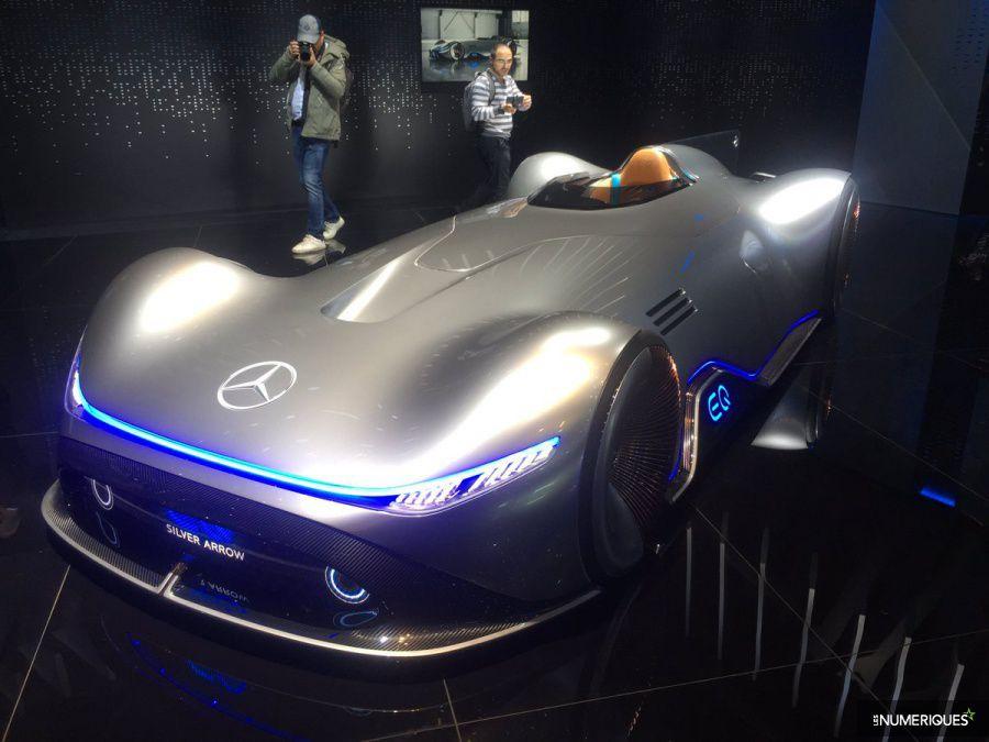 Mercedes Concept Silver Arrow mondial auto 2018