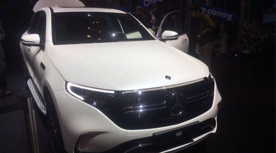 Merceds EQC 400 mondial auto 2018