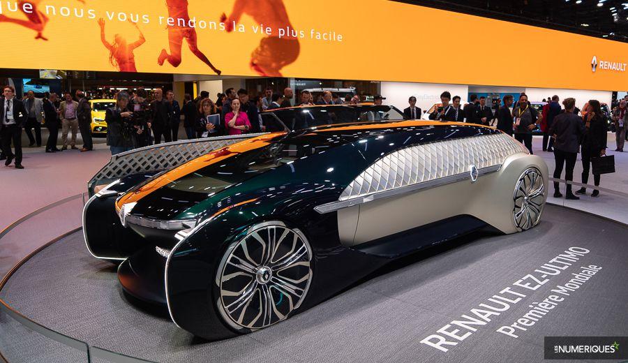 Renault EZ-Ultimo Mondial de l'auto 2018