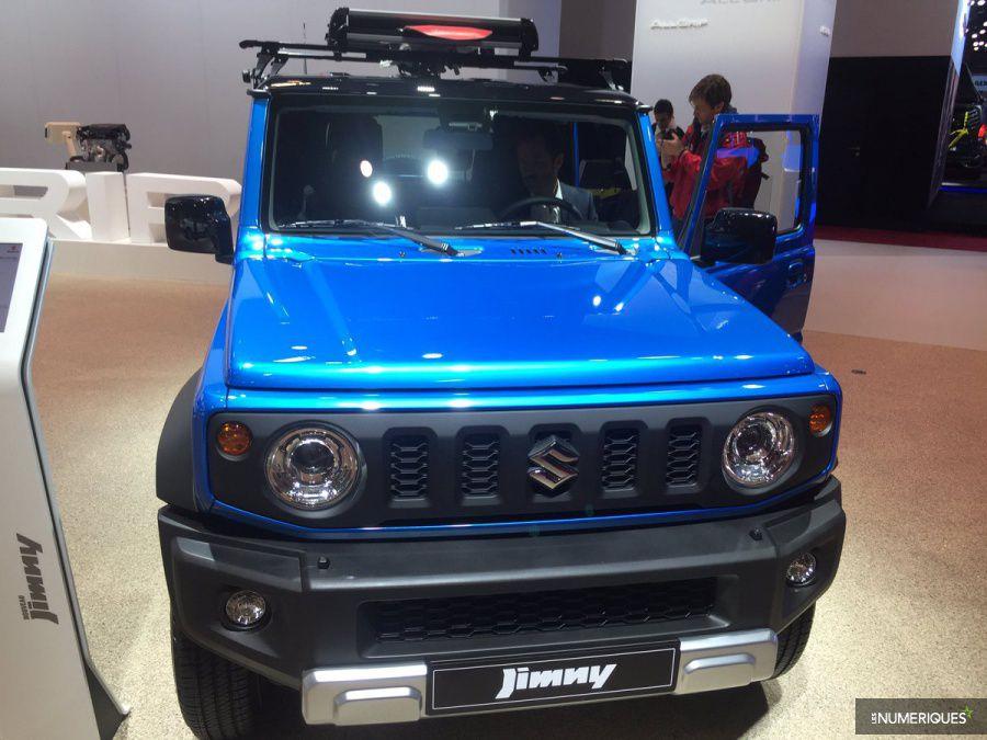 Suzuki Jimny mondial auto 2018