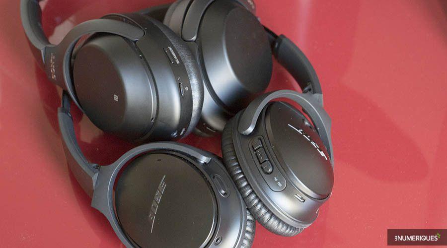 Duel de casques sans fil – Sony WH-1000XM3 vs Bose QC35 II