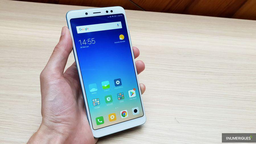 Xiaomi Redmi Note 5 face