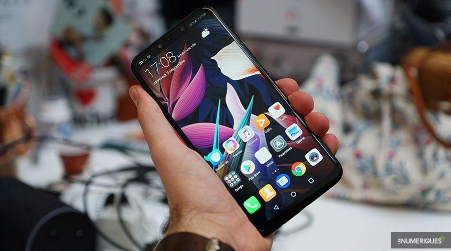 Huawei Mate 20 Lite face