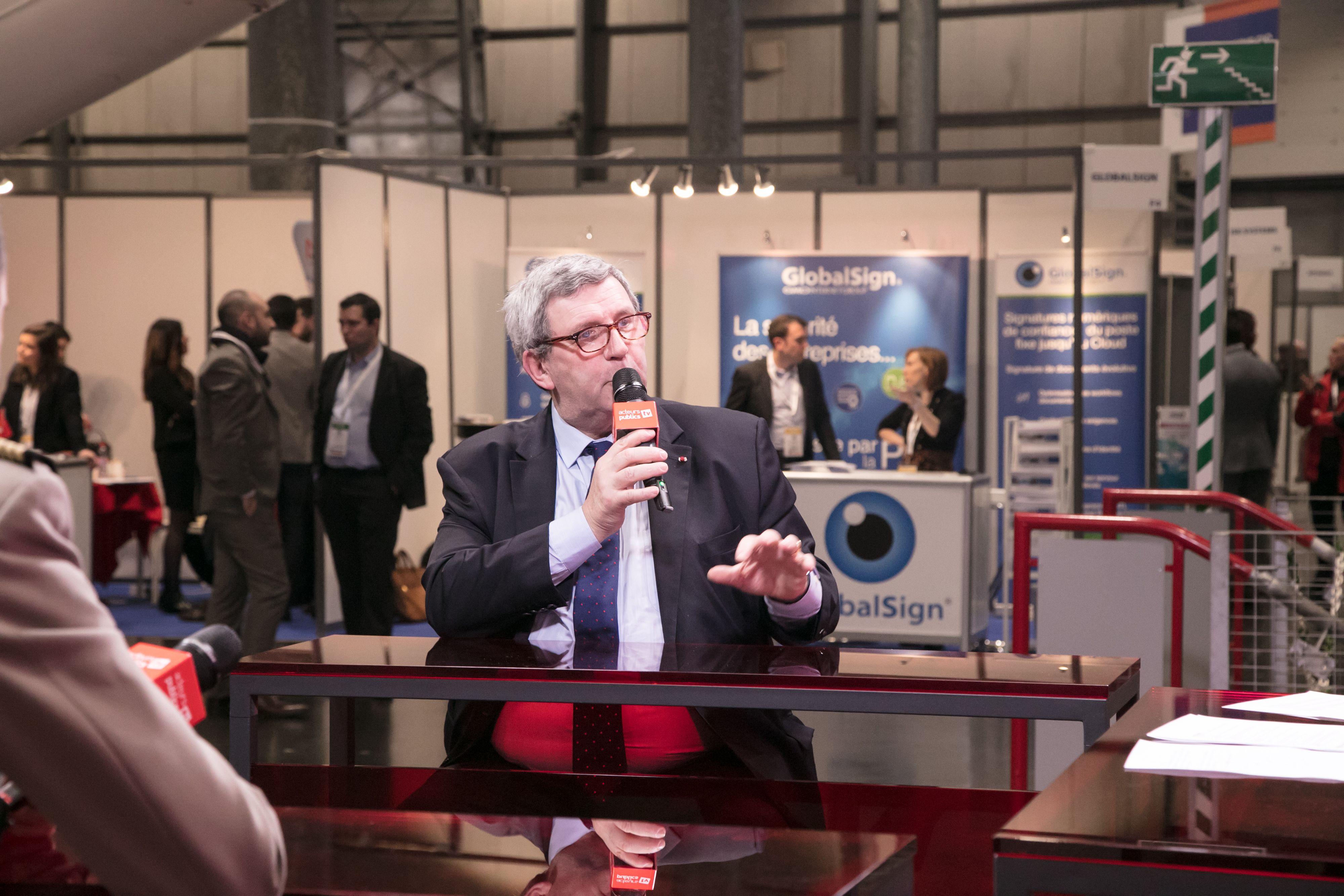 Marc Watin Augouard interviewé au FIC 2018