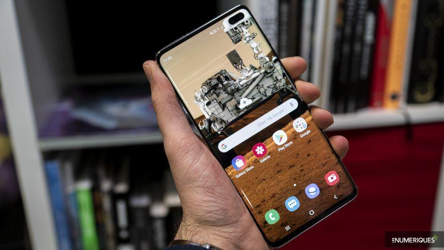 Samsung Galaxy S10+ écran