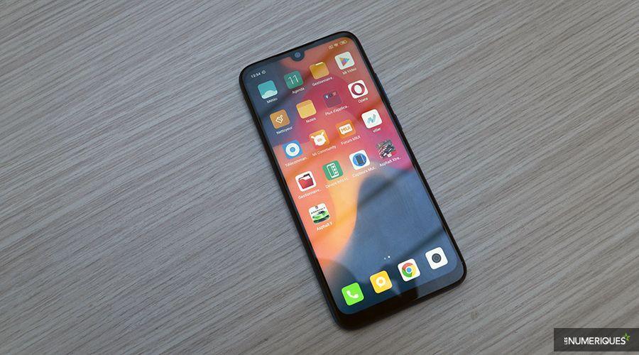 Redmi Note 7 écran