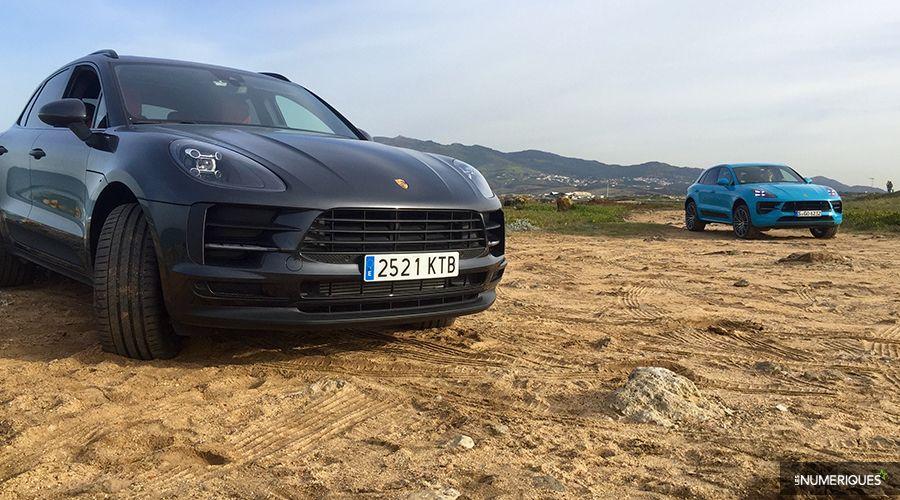 Macan À Sportif Porsche Prise En 2019Le La Main Suv S'ouvre bf6Y7vIgy