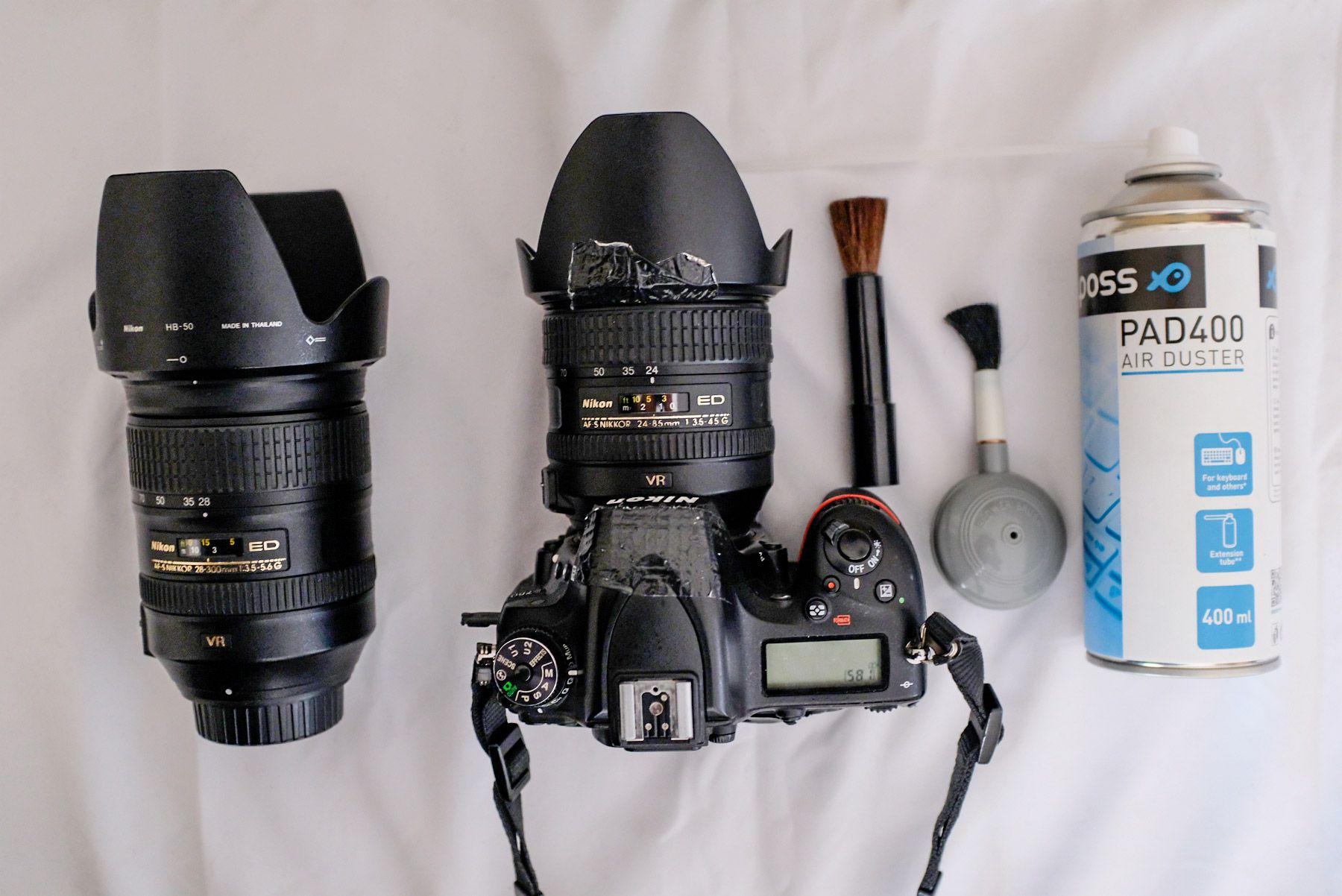 Tutoriel : réussir ses photos à la plage / nettoyage