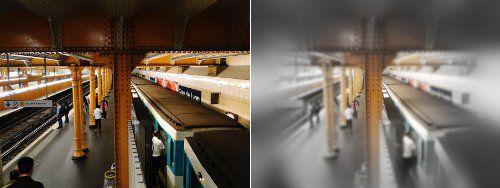 Vue exemple metro
