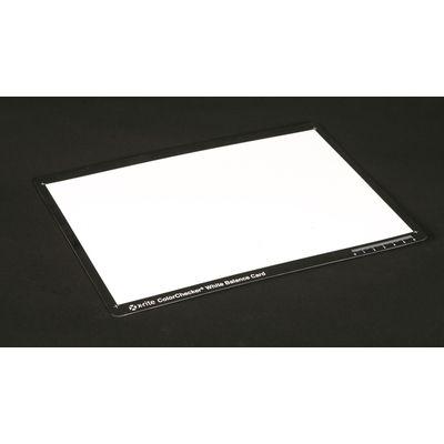 Test Charte X-Rite White Balance Card