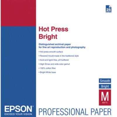 Test papiers Fine Art Epson Hot Press Natural - Bright