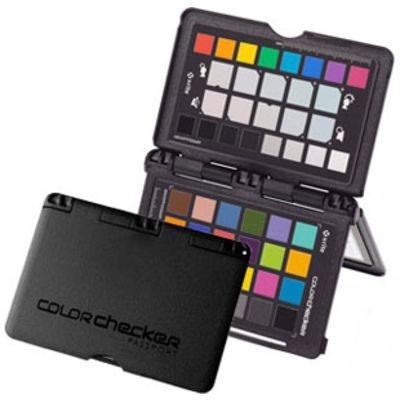 Test Charte X-Rite ColorChecker Passport